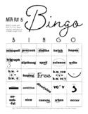 DYSLEXIA RESOURCES: MTA Kit 5 Bingo, WORD Print Version