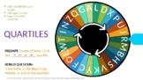 DYSLEXIA RESOURCES: Mastery Check 6, Interactive Quartile Spinner