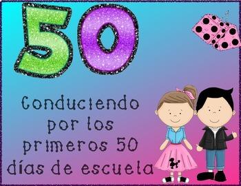 Día 50 de escuela - 50th Day of school en Español