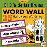 Día de las Brujas - Spanish Halloween Word Wall (Noche de Brujas)