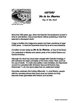 Día de los Muertos - History