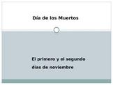 Día de los Muertos PowerPoint with puzzle and quizzes