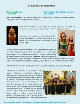 Día de los Muertos - en Guatemala