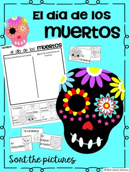 Día de los muertos/Day of the Dead {I can Sort} Activity