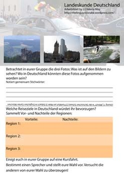 German Geography and Travelling