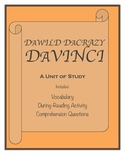 DaWild DaCrazy DaVinci Novel Study