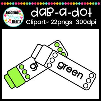 Dab-A-Dot Clipart