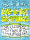 Dab-A-Dot Markers Clipart Mega Bundle Part 1 {Zip-A-Dee-Doo-Dah Designs}