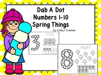 Dab A Dot Spring