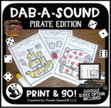 Dab-A-Sound Pirate Edition: Speech therapy with distance l