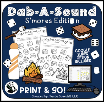 Dab-A-Sound S'mores Edition: Common Articulation Targets