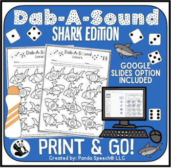 Dab-A-Sound Shark Edition: Common Articulation Targets