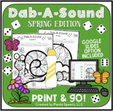 Dab-A-Sound Spring Edition: Common Articulation Targets