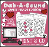 Dab-A-Sound Sweetheart Edition: Common Articulation Targets