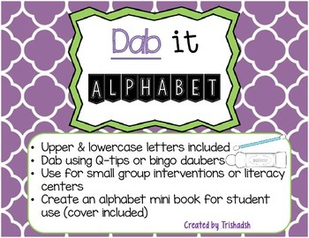 Dab-It Alphabet