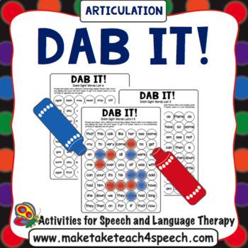 Dab It! Articulation