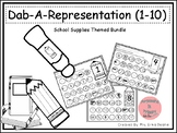Dab It Number and Representations 1-10 Back To School Theme