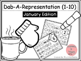 Dab It Number and Representations 1-10 January Theme