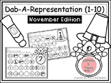 Dab It Number and Representations 1-10 November Theme