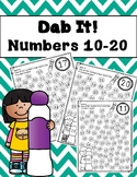 Dab It!  Numbers 10-20