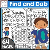 Dab It Math Worksheets Numbers to 10