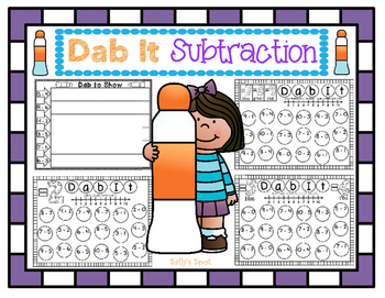 Dab It Subtraction