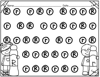 Dab The Alphabet Letters