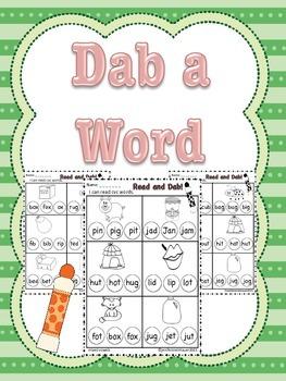 Dab a CVC Word