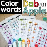 Bingo Dauber Activities - Dab a Color