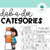 Dab-a-Dot Categories!