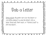 Dab a Letter