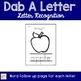 Letter ID Activities for Pre-K and Kindergarten