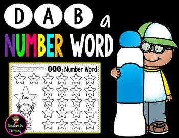Dab a Number Word