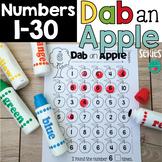Dab a Number - Bingo Daubers Activities to Practice Numbers