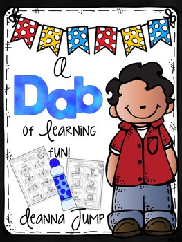 Dab of Learning Fun {No Prep Printables for Skills Practice & Review}