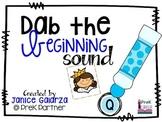 Dab the Beginning Sound