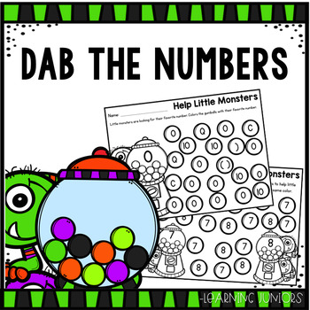 Dab the Numbers