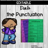 """Dab the Punctuation """" Editable"""""""
