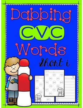 Dabbing CVC Words - Short I