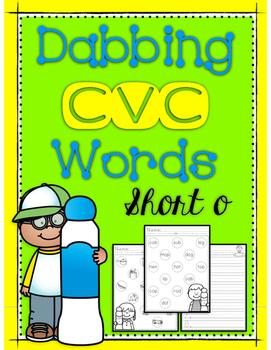 Dabbing CVC Words - Short O