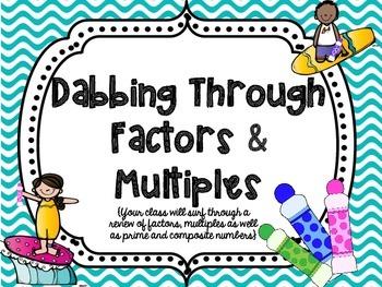 Dabbing Through Factors & Multiples