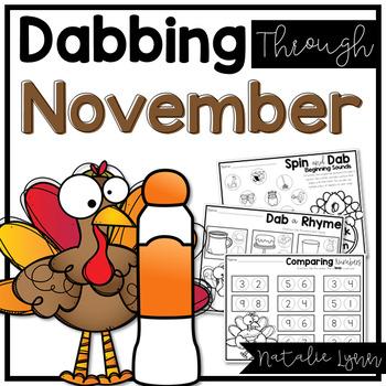 Dabbing Through November