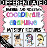Back to School Activities Dabbing & Flossing Coordinate Graph Mystery Pictures