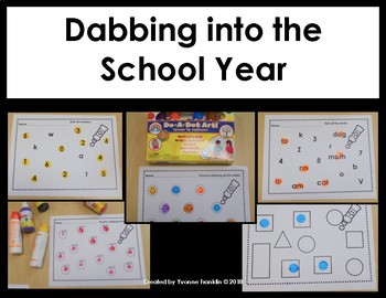 Dabbing into the School Year