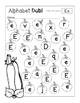 Dabbing the Alphabet with Pumpkins {FALL} - Kindergarten or Pre-School