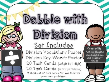 Division posters and task cards