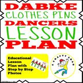 Dabke Dancers Clothes Pins {Lesson Plan}