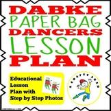 Dabke Dancers Paper Bags {Lesson Plan}