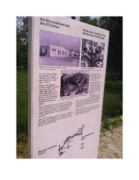 Dachau Concentration Camp Pictures - to be paired with novel studies