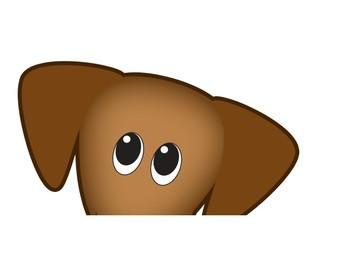Dachshund (Wiener Dog) Alphabet Banner/Poster